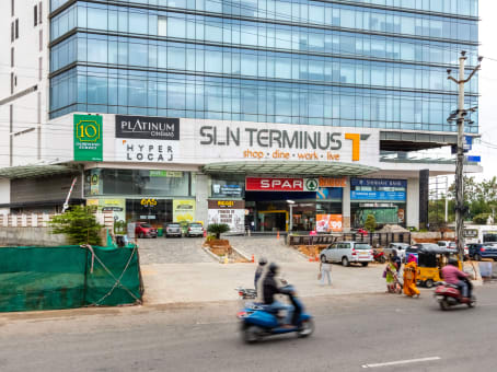 Building at 8th Floor, SLN Terminus, Survey No. 133, Beside Botanical Gardens, Gachibowli in Hyderabad 1
