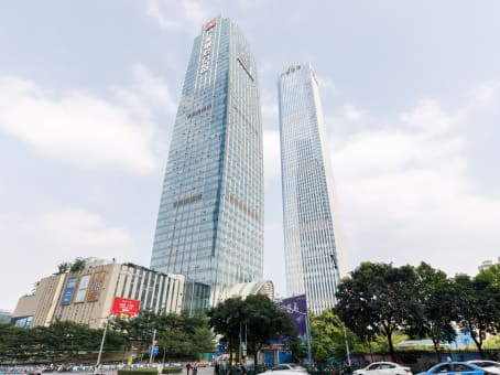 Building at 146 Minzu Avenue, 18/F, Sanqi Square in Nanning 1