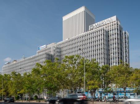 Mødelokalerne i Madrid, Castellana