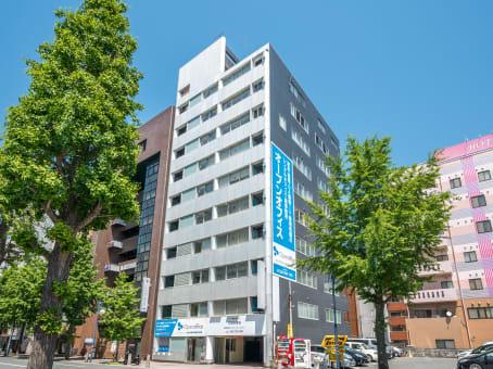 Prédio em 4-22 Chuogai, 2F-8F Alba Ginza Dori Building, Chuo-ku em Kumamoto 1