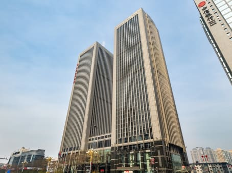 Building at 69 Fuxi Street, 5/F, East Tower, Shanxi World Trade Centre in Taiyuan 1