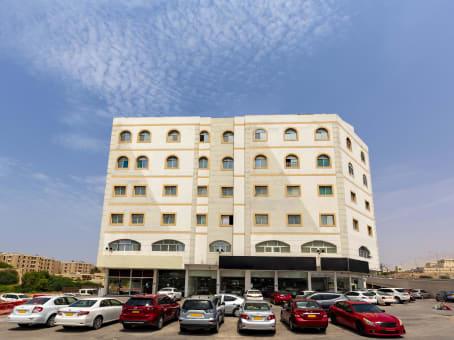 Prédio em Samatel Building, Bowsher em Muscat 1