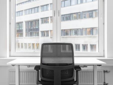 Mødelokalerne i Gothenburg, Central