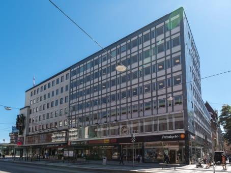 Building at Klarabergsgatan 29 in Stockholm 1
