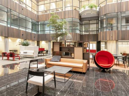 Mødelokalerne i Amsterdam Atrium
