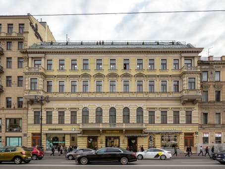 Building at Nevsky prospect, 55, 3rd floor in Saint Petersburg 1