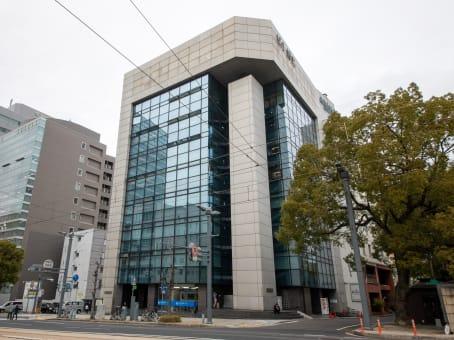 Building at 9-7 Hashimoto-cho, Bldg. Hirotake 5F8F, Naka-ku in Hiroshima 1