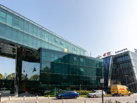 Building at 28, Wielicka street, Regus Equal Park 3rd Floor in Krakow 1