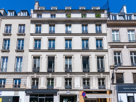 Building at 72 rue du Faubourg, St. Honoré in Paris 1