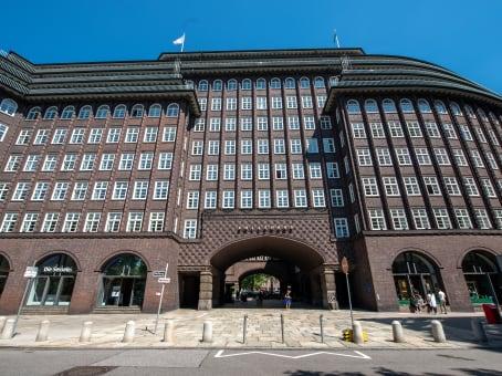 Gebäude in Fischertwiete 2, Chilehaus A in Hamburg 1