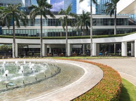 Mødelokalerne i Jakarta, Spaces WTC 3