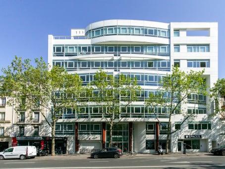 Mødelokalerne i Boulogne-Billancourt, Route de la Reine