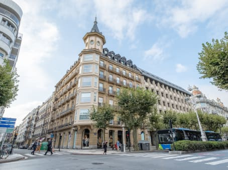 Salas de reuniones de San Sebastián, Avenida de la Libertad