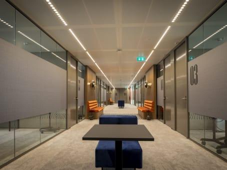 Mødelokalerne i WTC Schiphol