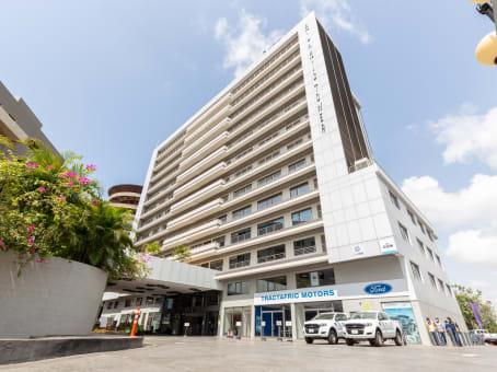 Mødelokalerne i Accra, Atlantic Tower