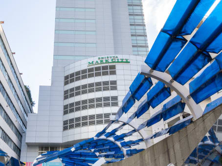 Mødelokalerne i Tokyo Shibuya Mark City