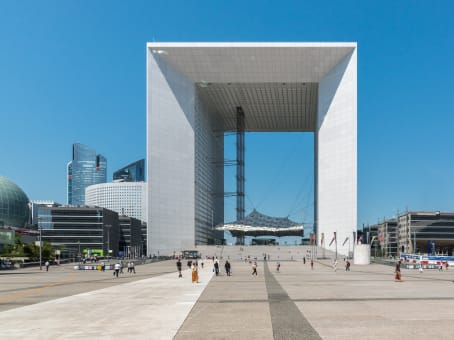 Building at Paroi Nord La Défense, La Grande Arche in Paris 1