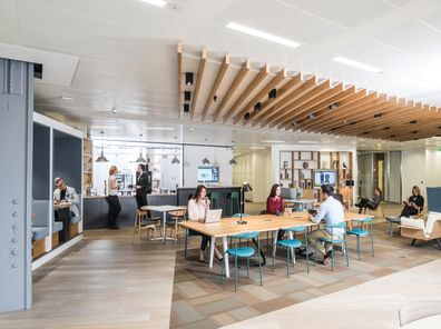 Coworking and shared office space in United Kingdom