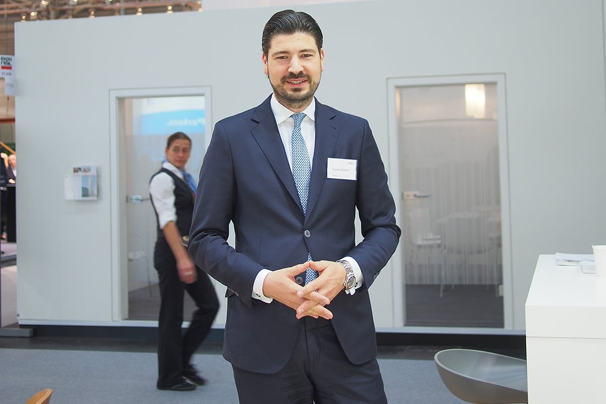 IWG's Daniel Grimm offers expert advice at ExpoReal in Munich