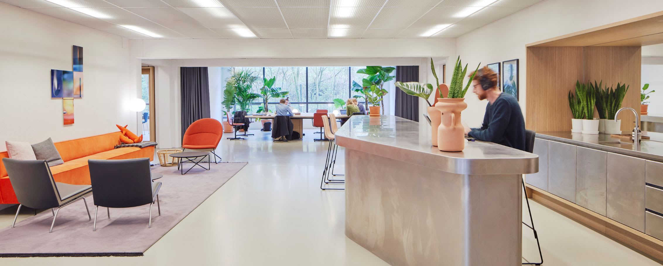 Spaces Amstel: how flexible workspace re-energised four brick walls